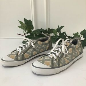 Coach Barrett Signature Op Art Tennis Shoes
